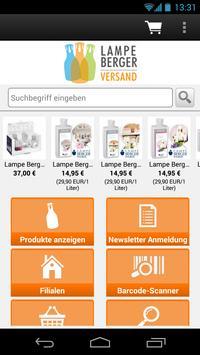 Lampe Berger Versand screenshot 1