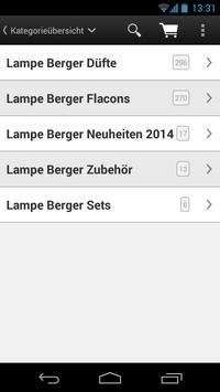 Lampe Berger Versand screenshot 2