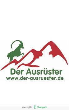 Ausrüster- Shop- App poster