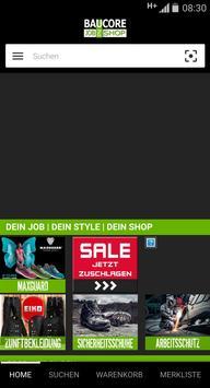 Baucore.com Workwear Store apk screenshot