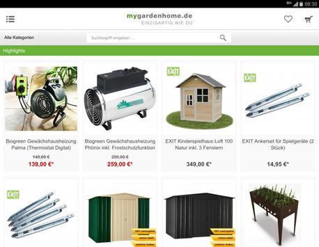 mygardenhome.de screenshot 5