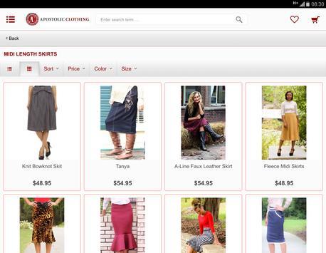 Apostolic Clothing Co. apk screenshot