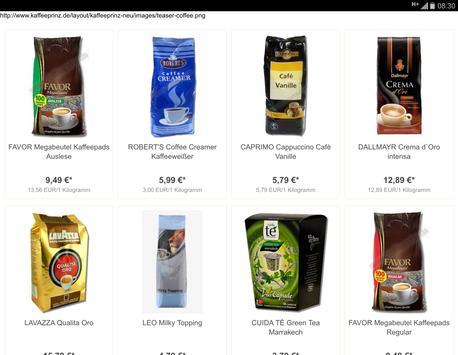 Kaffeeprinz screenshot 5