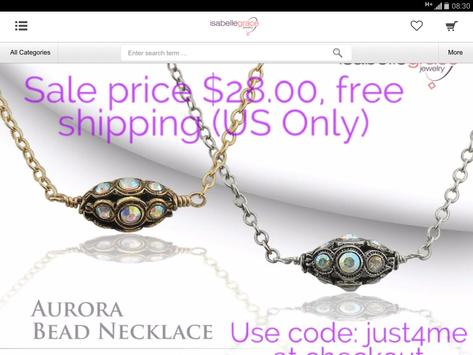 Isabelle Grace Jewelry screenshot 9