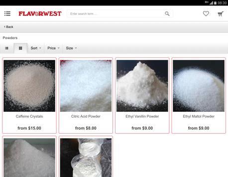 Flavor West screenshot 4