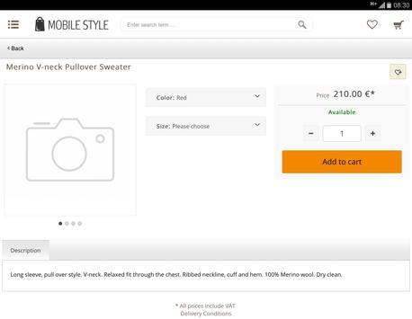 Mobile Style screenshot 5