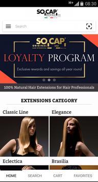 SOCAP ORIGINAL Hair Extensions poster