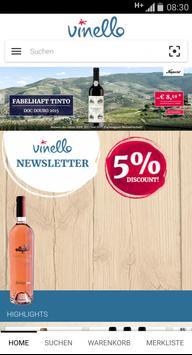 VINELLO wine & spirits screenshot 1