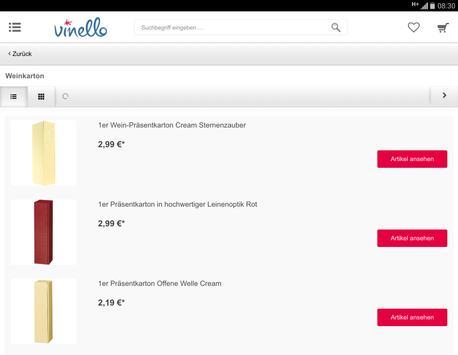VINELLO wine & spirits screenshot 6
