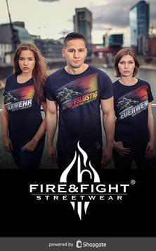 My FIRE & FIGHT poster