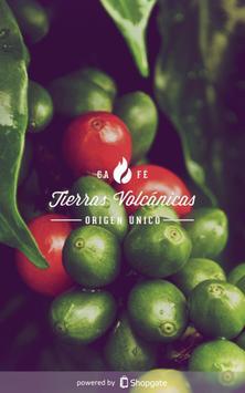 Café Tierras Volcánicas Shop poster
