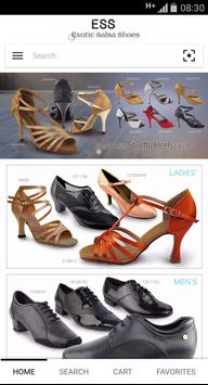 Exotic Salsa Shoes poster