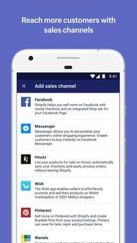 Shopify screenshot 1