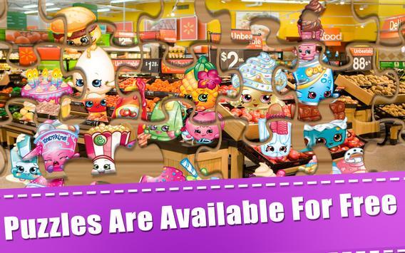 Puzzle Shopkins Kids Toys screenshot 4