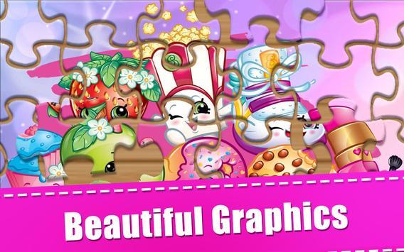 Puzzle Shopkins Kids Toys poster
