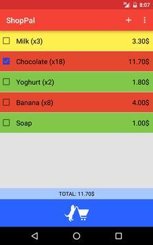 ShopPal apk screenshot