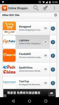 Shopping Online Navigation apk screenshot