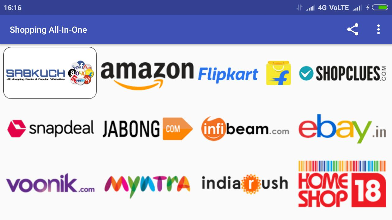 Shopping All-In-One India | Online Shopping Apps for Android