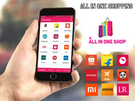 All in one shopping India FREE poster