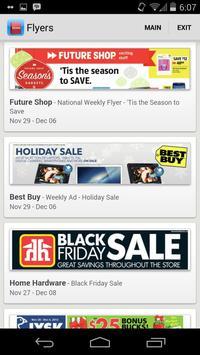 Shopping Flyers Canada apk screenshot