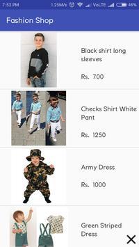 Fashion Shop screenshot 2