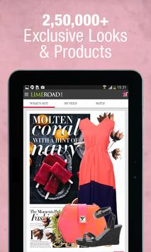 LimeRoad Men & Women Shopping apk screenshot