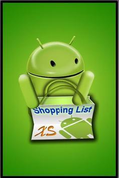 Shopping List XS poster