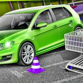 Car Park Shopping Center 3D icon