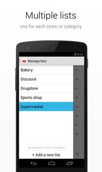 Shopping List apk screenshot