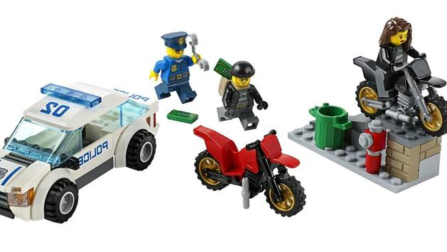 Police Building Set for Kids poster