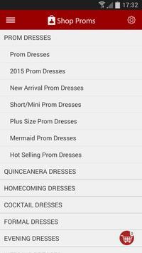 Shop Proms apk screenshot