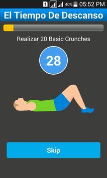Plays 7 Minutes Workout screenshot 3