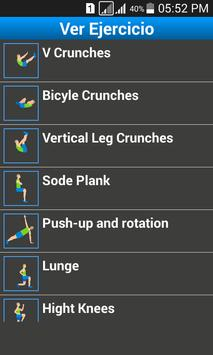 Plays 7 Minutes Workout screenshot 1