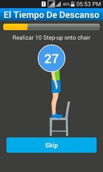 Plays 7 Minutes Workout screenshot 4