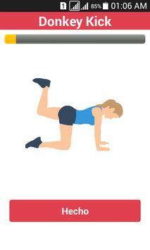 Exercises For Slim down Waist screenshot 1