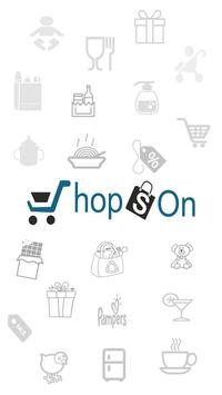ShopsOn - Online Grocery poster