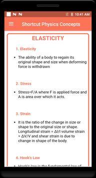 Shortcut Physics Concepts screenshot 4