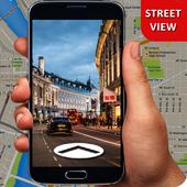 360 Street View Map - Shortest Bike Path Finder-icoon