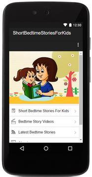 Short Bedtime Stories For Kids poster