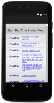 Short Bedtime Stories For Kids screenshot 1