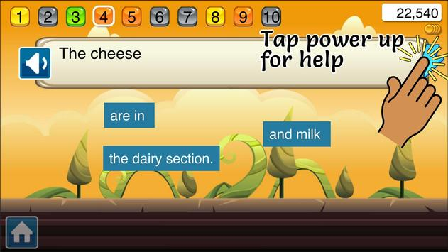 Chunky English: Vocabulary screenshot 5