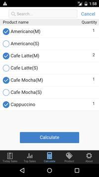 Retail checklist calculator apk screenshot