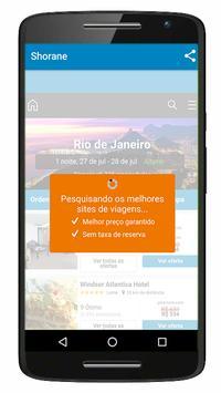 Shorane - buscador de hotéis apk screenshot