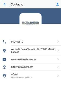 La Zalamera apk screenshot