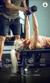 Adam Selmi Training poster
