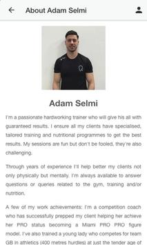 Adam Selmi Training screenshot 1
