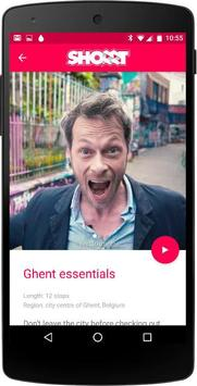 Shorrt city guide: Ghent poster