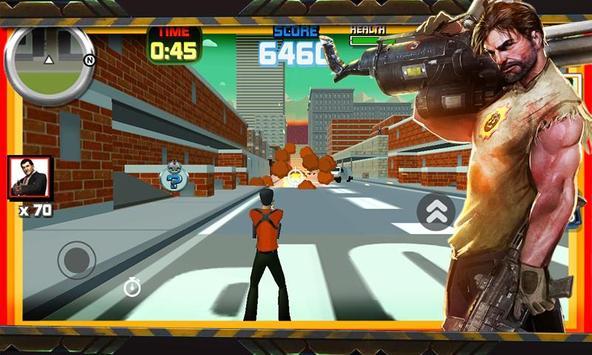 Shotgun vs Hammer 3D poster