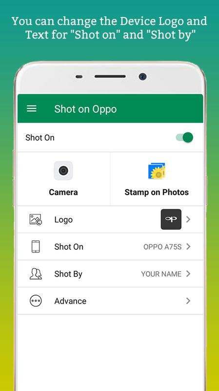 ShotOn for Oppo: Auto Shot on Image for Android - APK Download
