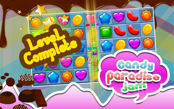 Candy Paradise Jam Match 3 Game poster